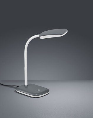 Bureau lamp Trias grijs
