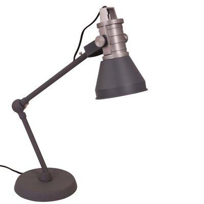 Tafellamp Brusk antraciet-grijs