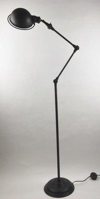 Vloerlamp Rimini zwart