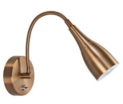 Wandlamp Flex small brons