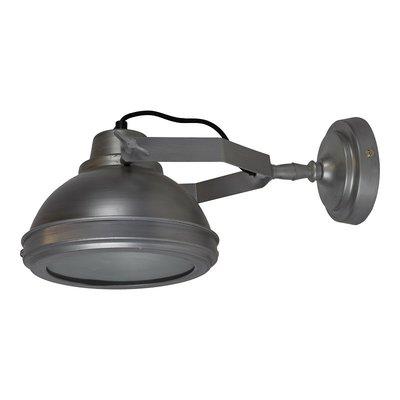 Industriele Wandlamp  Vintage antiek zink