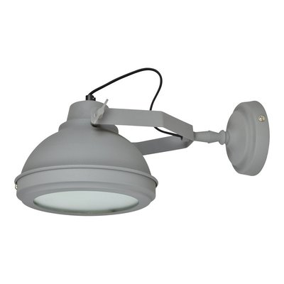 Industriele Wandlamp  Vintage grijs