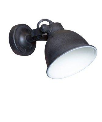 Wandlamp Maxim Vintage zwart