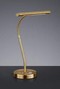 Piano/Bureaulamp met touchdimmer brons