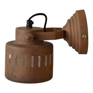 Wandlamp Industrieel roest