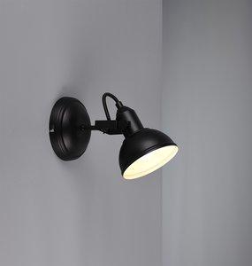 Wandlamp Oslo zwart